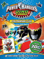 NEW  POWER RANGERS  Colouring Fun  ACTIVITY  with 300 STICKERS