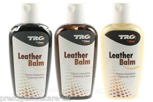 TRG Leather Balm Leather Recolouring Balm Conditioner Any ...