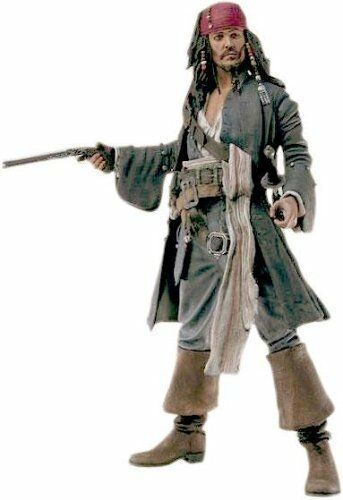Pirates of The Caribbean Dead Mans Chest 12inch Jack Sparrow Sparrow Sparrow Action Figure Neca 9e7213