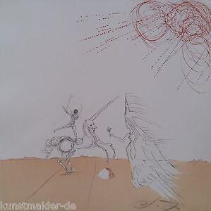 MUSEALE-Salvador-Dali-Original-Radierung-240-Desert-fabuleux
