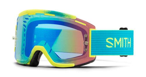 Clair Lentille Kit Smith SQUAD MTB Mountain Bike Goggles acide Split chromapop Lens