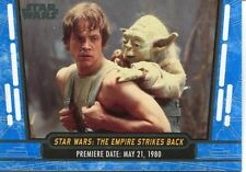 Star Wars 40th Anniversary Blue Base Card #2 Star Wars: The Empire Strikes Back