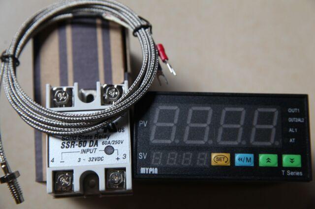K Sensor+25A DA SSR F//C Manual// Auto-tuning PID Temperature Controller TD4-SNR