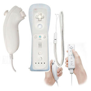 White-Wireless-Controller-Remote-Nunchuck-for-Nintendo-Wii-WII-U-AU-Warehouse