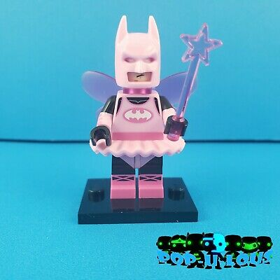 LEGO PINK FAIRY BATMAN MINIFIGURE THE MOVIE MINIFIGURES SERIES 71017 #3 Lot