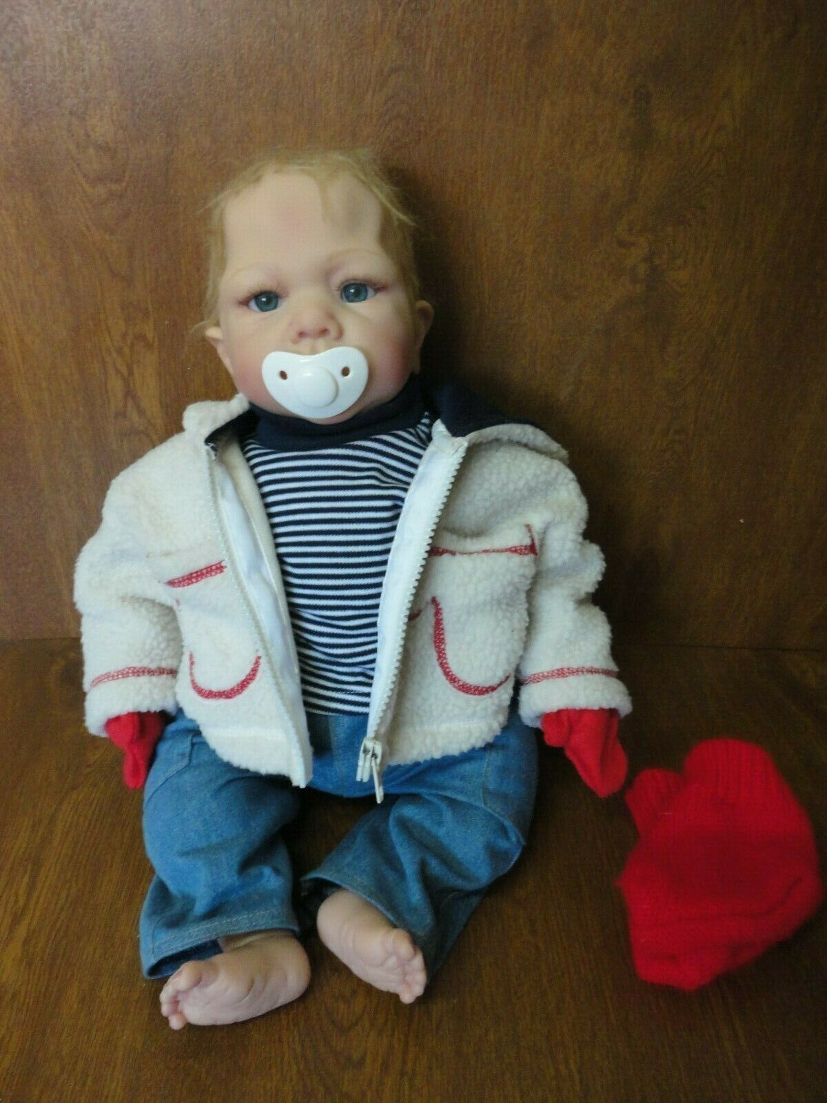 Rare 19  Maribel Villanova Reborn Baby Boy Doll ADG 04 - So Truly Real