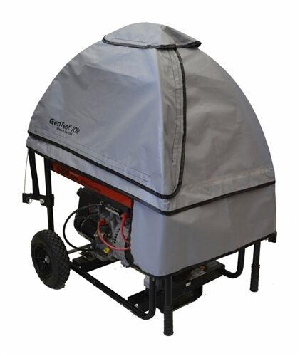 gentent 10k stormbracer rainwet weather safety canopy for portable generators grey ebay