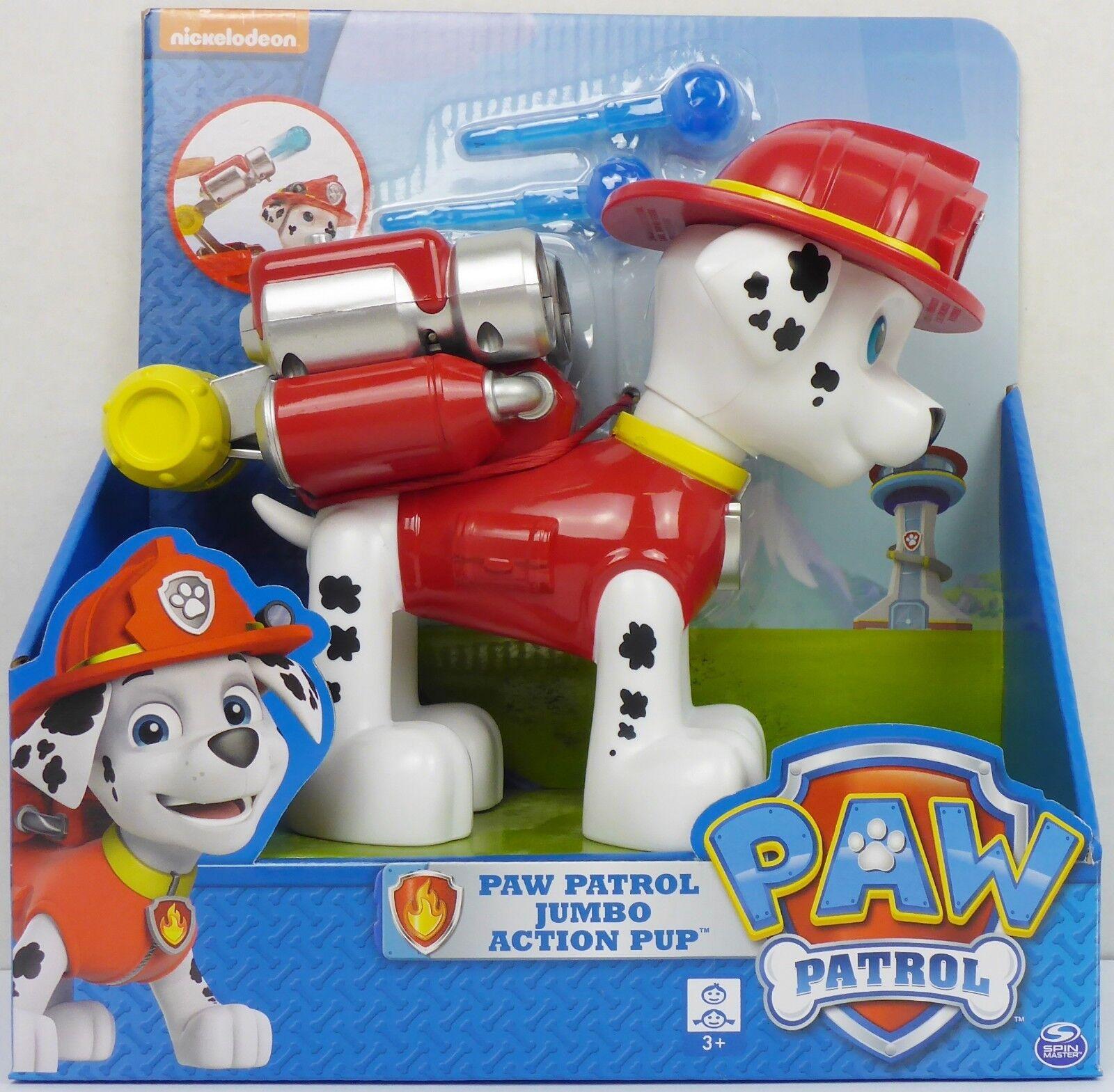Paw Patrol Jumbo Action Pup Marshall Figur ca. 15cm groß