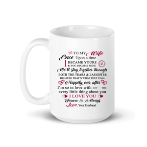 To My Wife I Love You Mug Gift For Wife Best Gift For Wedding