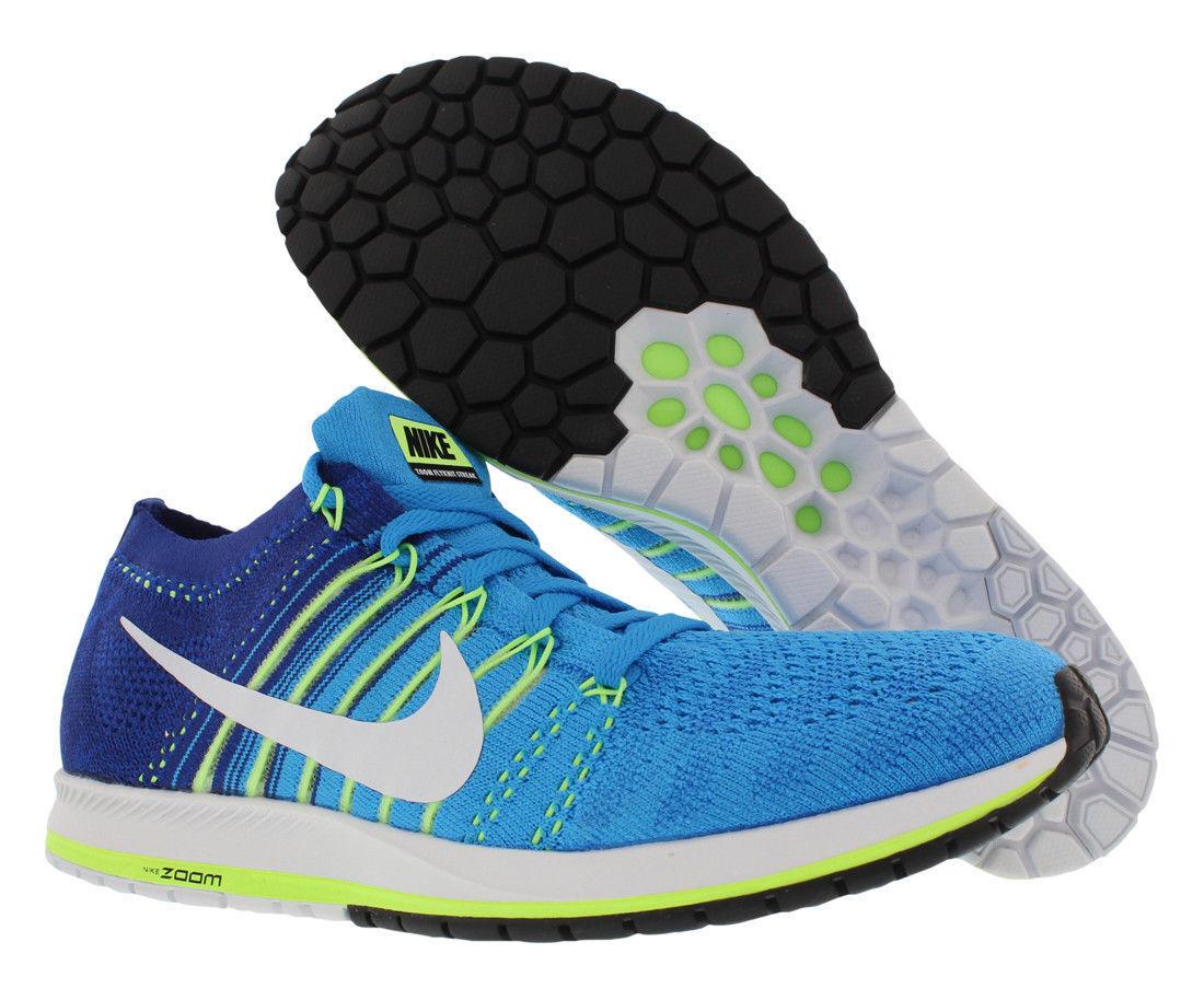 Nike Flyknit Streak, Men's Sizes 10.5,11.5,12,13 D BlueGlow/White 835994-414 NEW