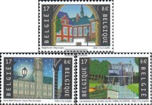 Belgien-2974-2976-kompl-Ausg-postfrisch-2000-UNESCO