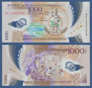 Aktiv Vanuatu 1000 Vatu (2014) Polymer Unc P. 15