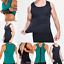 Maenner-Gym-Neopren-Weste-Sauna-Sweat-Shirt-Body-Shaper-Korsett-abnehmen-Koerperfo