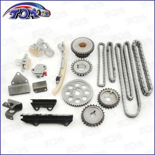 Complete Timing Chain Kit w// Gears Fits Suzuki Chevy XL-7 Grand Vitara H25A H27A