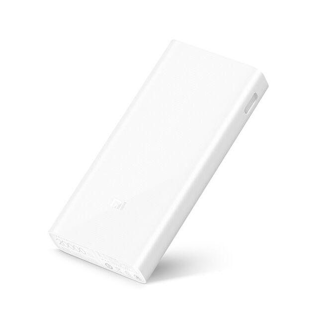 New Xiaomi Mi 20000mAh Power Bank 2C Quick Charge 3.0 External Battery Dual USB
