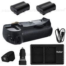 Battery Grip for Nikon D600 D610 MB-D14 + 2X EN-EL15 Battery + Dual Charger
