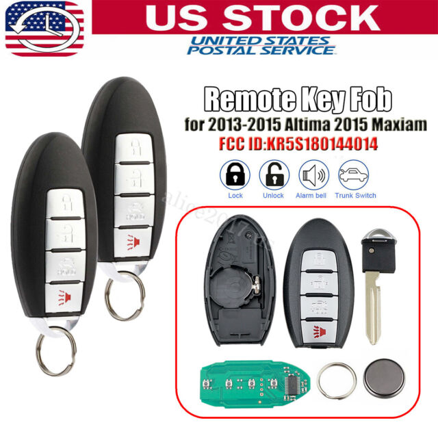 2x For 2013 2014 2015 Nissan Altima Keyless Entry Smart