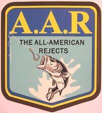ALL AMERICAN REJECTS AUFKLEBER / STICKER # 1 WETTERFEST