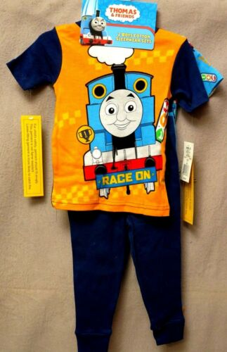 THOMAS THE TRAIN PAJAMAS SIZE 2T or 4T 4 Piece Set NEW WIth Tags!