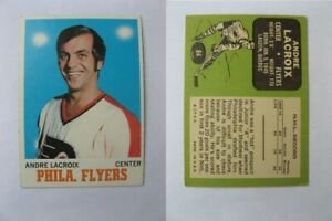 1970-71 OPC O-Pee-Chee #84 Lacroix Andre    flyers