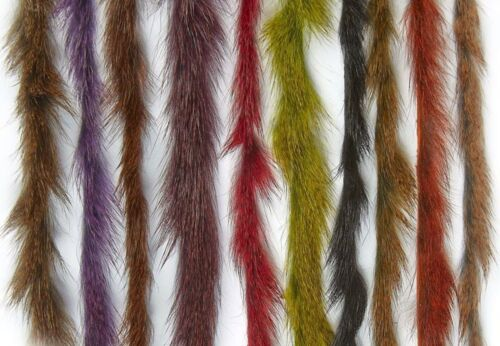 Hareline fly tying Premium Micro lapin bandes