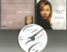 DEBORAH COX The sound of my tears w/ RARE RADIO EDIT PROMO DJ CD single USA 1996