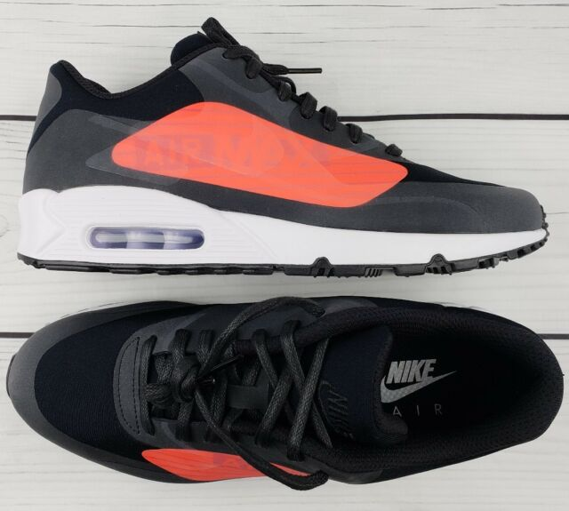 Nike Air Max 90 NS GPX Men Size 9.5 Black Crimson Comfortable Lightweight cfa317433