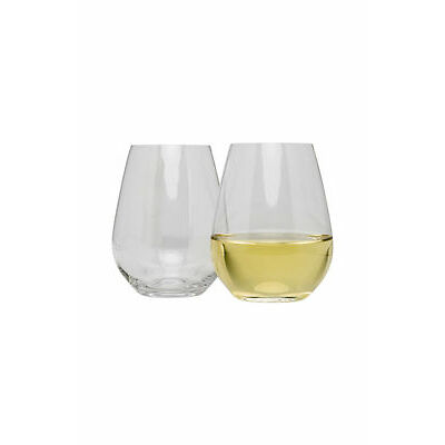 NEW Krosno Vinoteca Stemless White Wine, Set of 6, 400ml