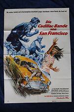 orig Kino Plakat - Die Cadillac Band von San Francisco 1968 Tom Nardini Oldtimer