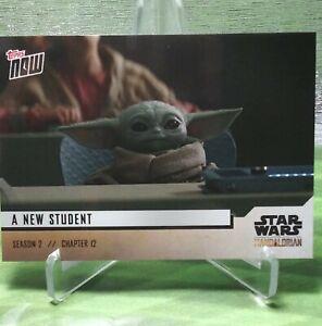 Chapter 12 5-Card Set 2020 Topps Now Star Wars Mandalorian S2 Baby Yoda Child