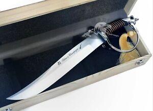 Sciabola Da Champagne Sommelier Sabre Knife + Confezione Regalo Collezione