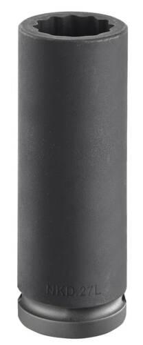 Impact Socket 32mm 12-Point Facom NKD.32L 3//4″ Drive Deep Bi-Hexagon