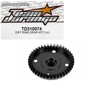 310092 TD310092 Team Durango DNX408 Mittelantriebs Sprengring 10stk