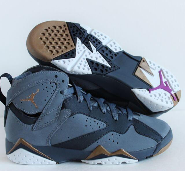 217b0ab8f Nike Air Jordan 7 Retro GG Blue Dusk Maya Moore PE 442960-407 Size 4y  Limited