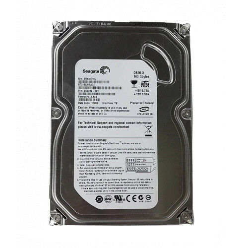 "Seagate ST3160215ACE 160GB 7200RPM IDE PATA ATA-100 3.5"" Desktop HDD Hard Drive"