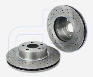 2-gelochte-Bremsscheiben-MERCEDES-S-Klasse-W220-vorne-Vorderachse-312-mm