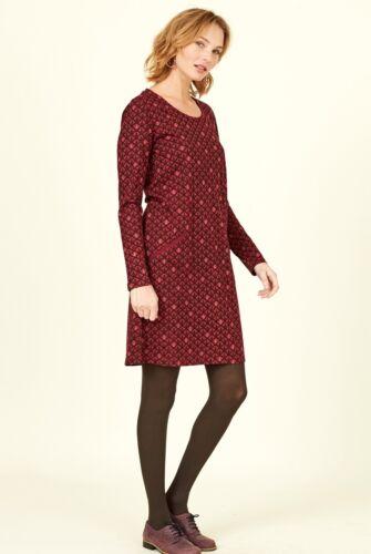 NOMADS Organic Cotton Art Deco Print Tunic Dress BOHO Fair Trade AD3041