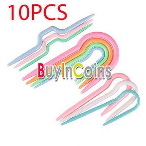 10Pcs-Cable-de-punto-Plastico-ABS-3-Juegos-Agujas-de-tejer-de-punto-ganchillo-ER15