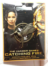 Hunger Games Catching Fire Pin Prop Replica- Carded- FREE S&H (HGJW-72)