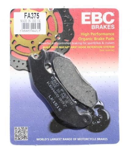 EBC Organic Front Brake Pads For Honda 2014 CBR125R