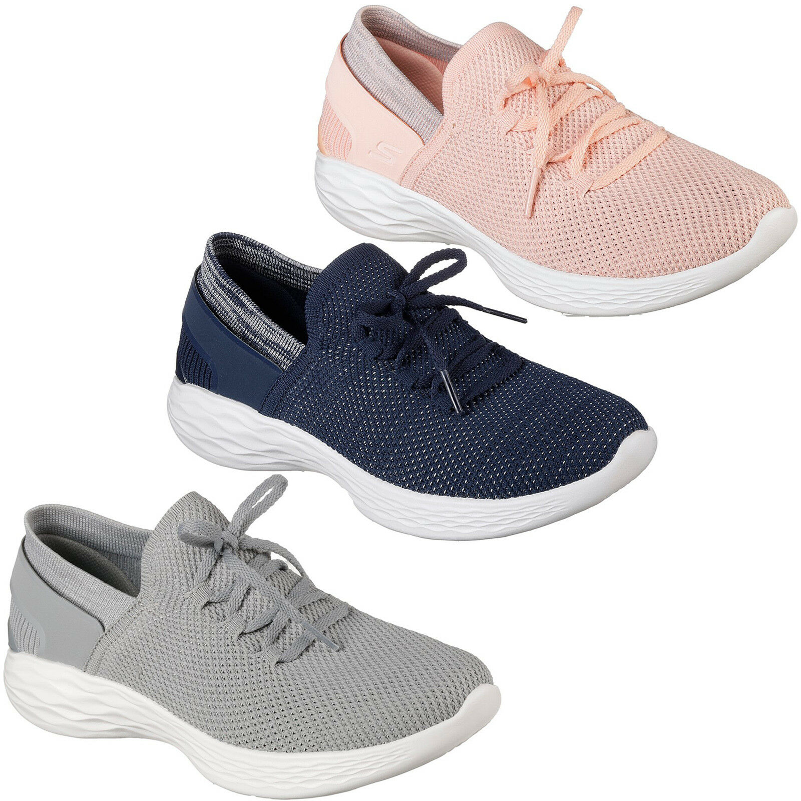 Gran descuento Descuento por tiempo limitado Skechers You - Spirit Trainers Womens Memory Foam Lifestyle Sports Shoes 14960