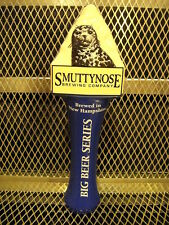 SMUTTYNOSE BREWING NH ~ NEW Big Beer Series Ceramic Beer Tap Handle Seal Sealion