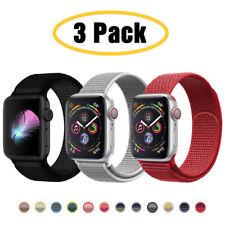 Для Apple часы серии 6, 5, 4, 3-1 Se 40/44mm нейлон спорт ремешок iWatch ремень 3 шт.