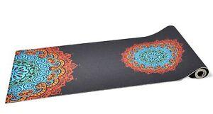 Paisley-Coral-Design-6mm-PVC-Superior-Grip-Sticky-Mandala-Yoga-Mat