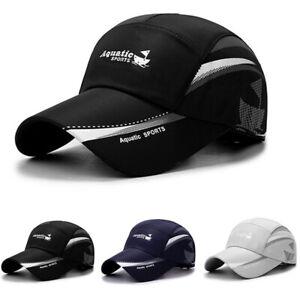 Quick-Dry-Waterproof-Men-Sport-Duck-Tongue-Sun-Hat-Outdoor-Space-Baseball-cap