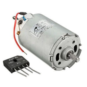 Ac220v Rectifier High Speed Torque Dc Mini Permanent
