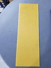 50 Yellow Beekeeping Honeycomb Wax Frames Foundation Honey Hive Equipment