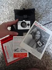 1970's Polaroid Square Shooter 2 Land Camera with Shoulder Bag & Original Manual
