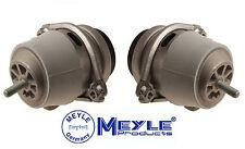 Porsche Cayenne V8 03-10 Set Pair of 2 Left & Right Lower Engine Mounts Meyle