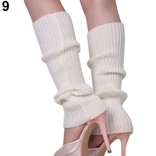 Hot Women Delicate Knit Winter Leg Warmers Stocking Popular Legging Boot Socks